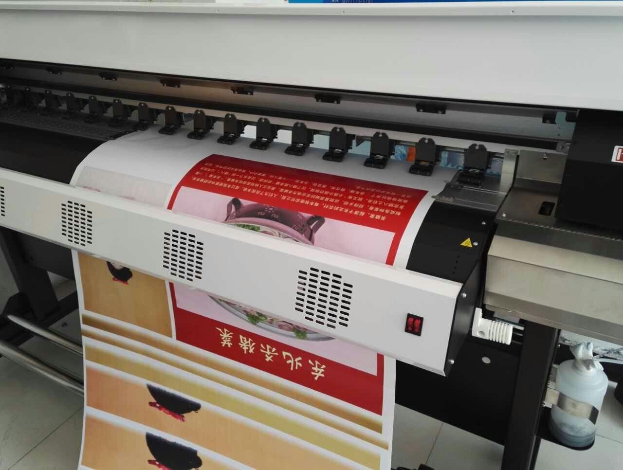 徐州市沛县hy-1600写真机安装测试完成